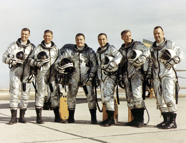 The X-15 pilots.