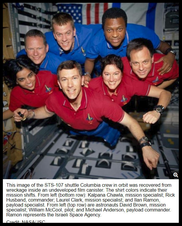 Crew of Columbia's Last Mission