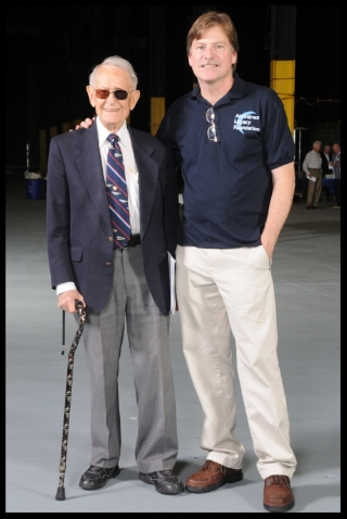 Dale Myers with ALF VP Larry Latimer April 17 2010 Apollo 13 40th a.jpg