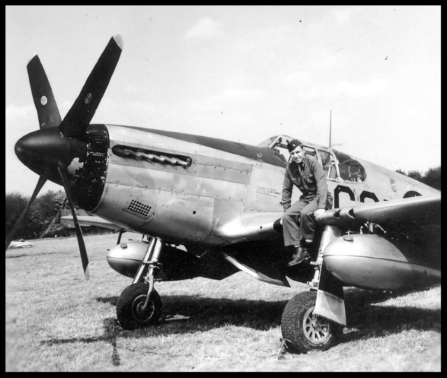 Lt Felix Kozaczka 363rd Fighter Group on    P-51B Mustang