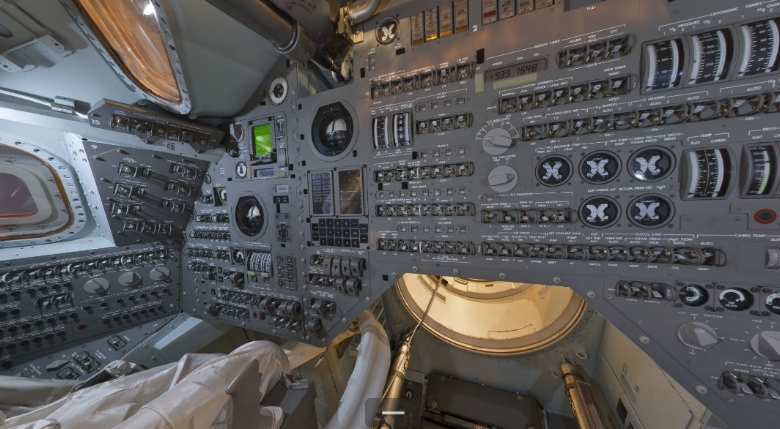 "Apollo Command Module- ""Inside the Cockpit"".  Air & Space Magazine"