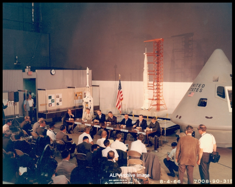 Apollo 1 crew meeting in Downey fixed 75.jpg