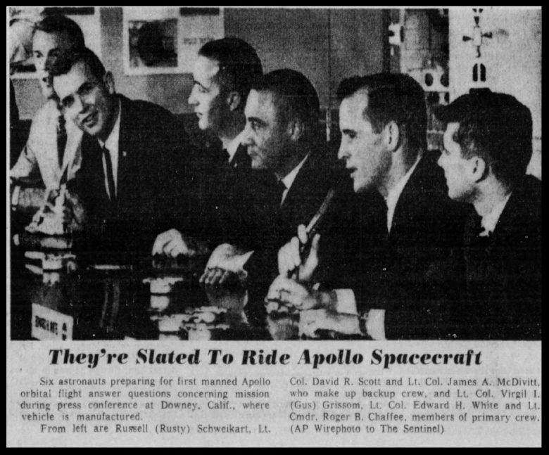 Above- Article from The Orlando Sentinel Sun Aug 7 1966.