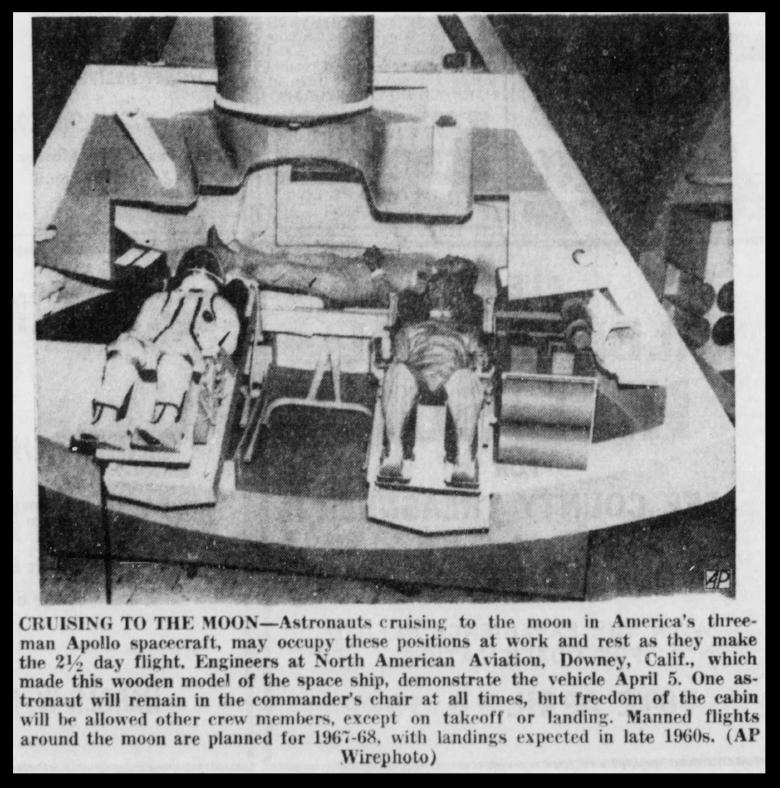 Above-Dixon Evening Telegraph Sat Apr 7 1962