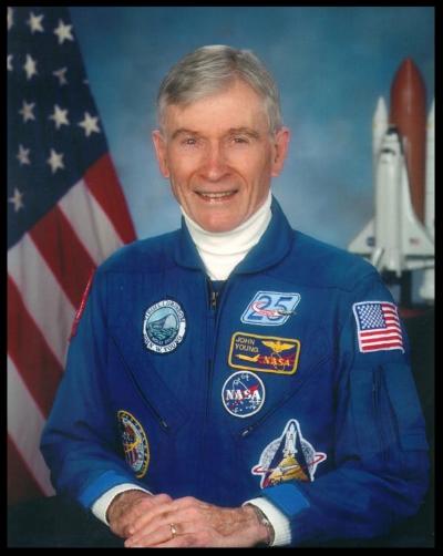 Astronaut John Young.