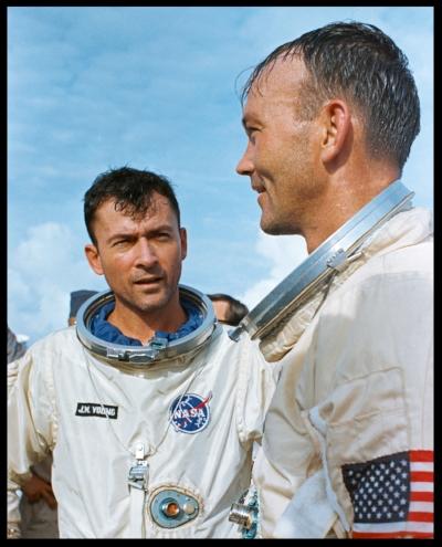 Astronaut John Young