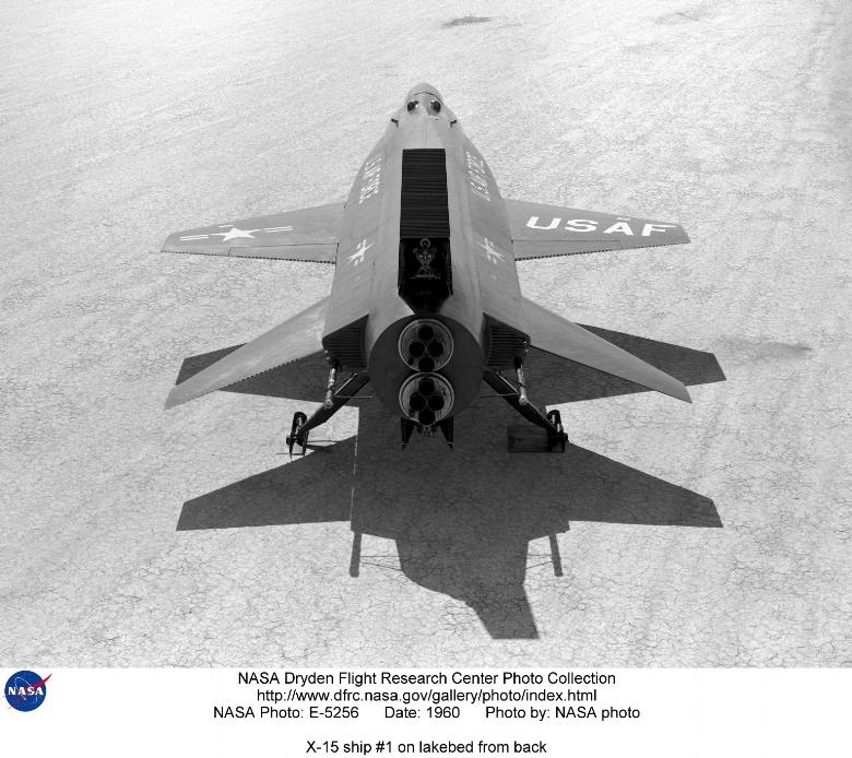 X-15. Image- NASA