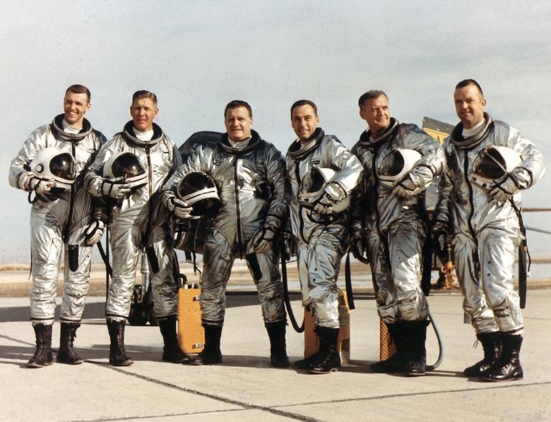 X-15 flight crew. Images- NASA