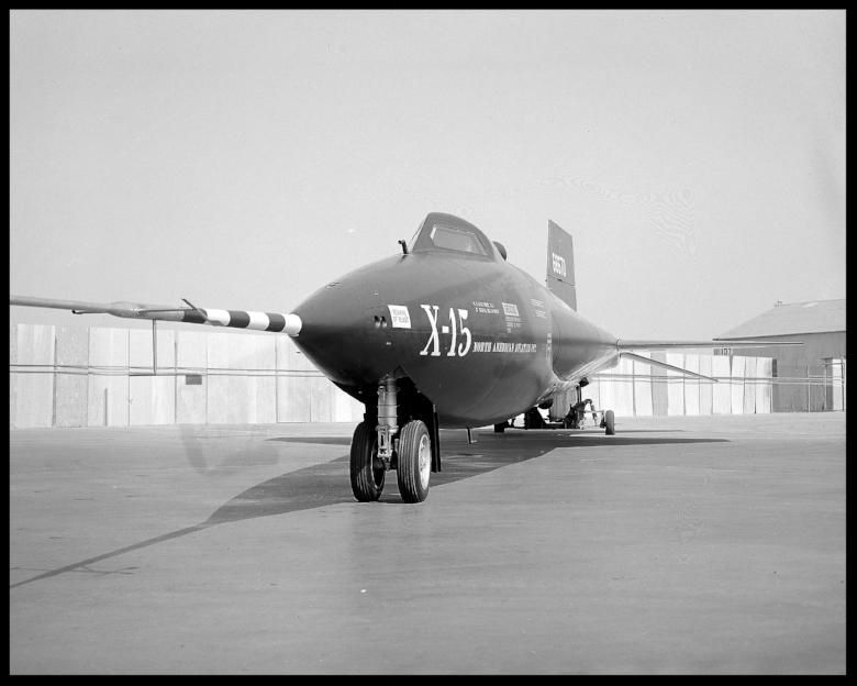 X-15 Experimental plane. by NASA/Glenn Research Center 1958