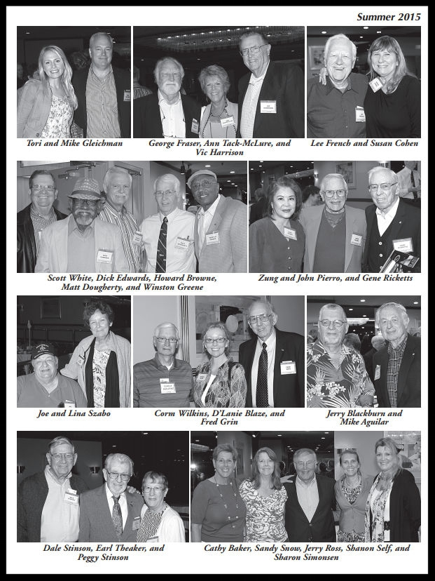 Above- 53rd annual NAA Bald Eagles Reunion.  Summer 2015 Bulletin.  Image- Sandy Snow.