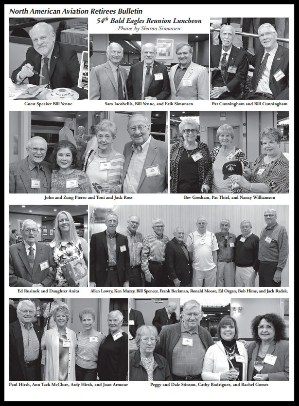 Above- 54th Annual NAA Bald Eagles Reunion.  Summer 2016 Bulletin . Images Sharon Simonsen.