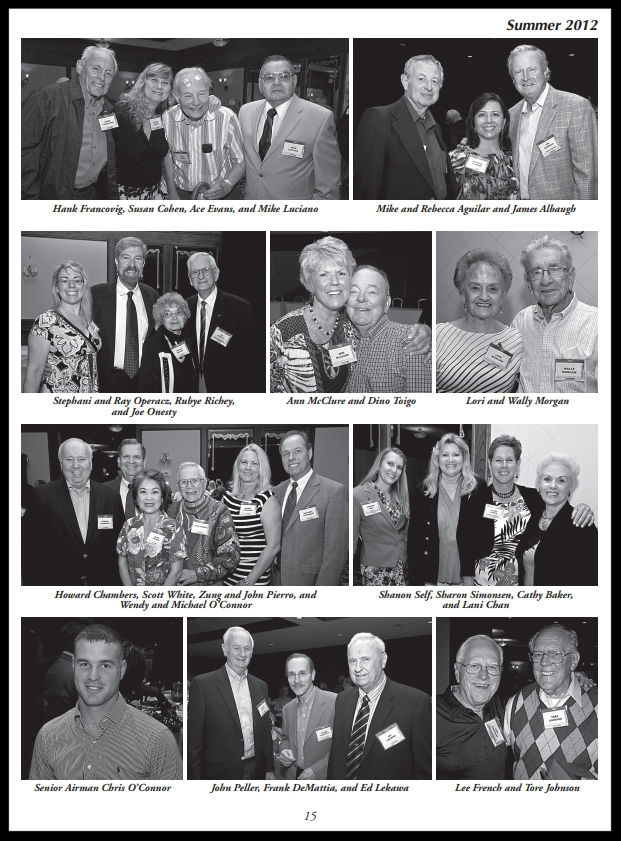 Above- 50th Annual NAA Bald Eagles Reunion.  Summer 2012 Bulletin .