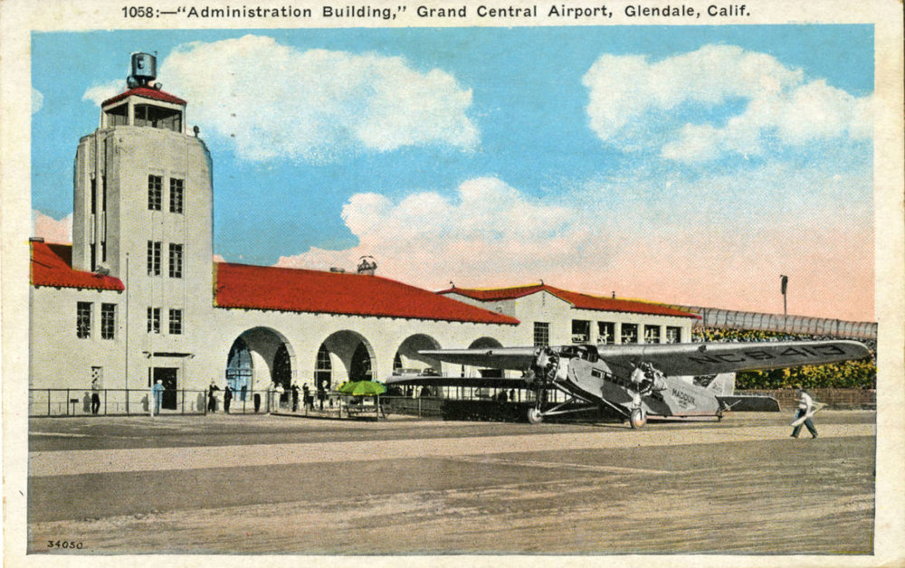 Administration Building, Grand Central Airport, Glendale, Calif. c1930.jpg