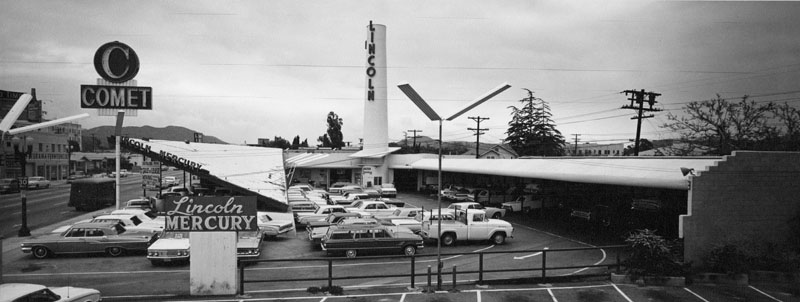 Comet Lincoln Mercury automobile dealership in Glendale..jpg