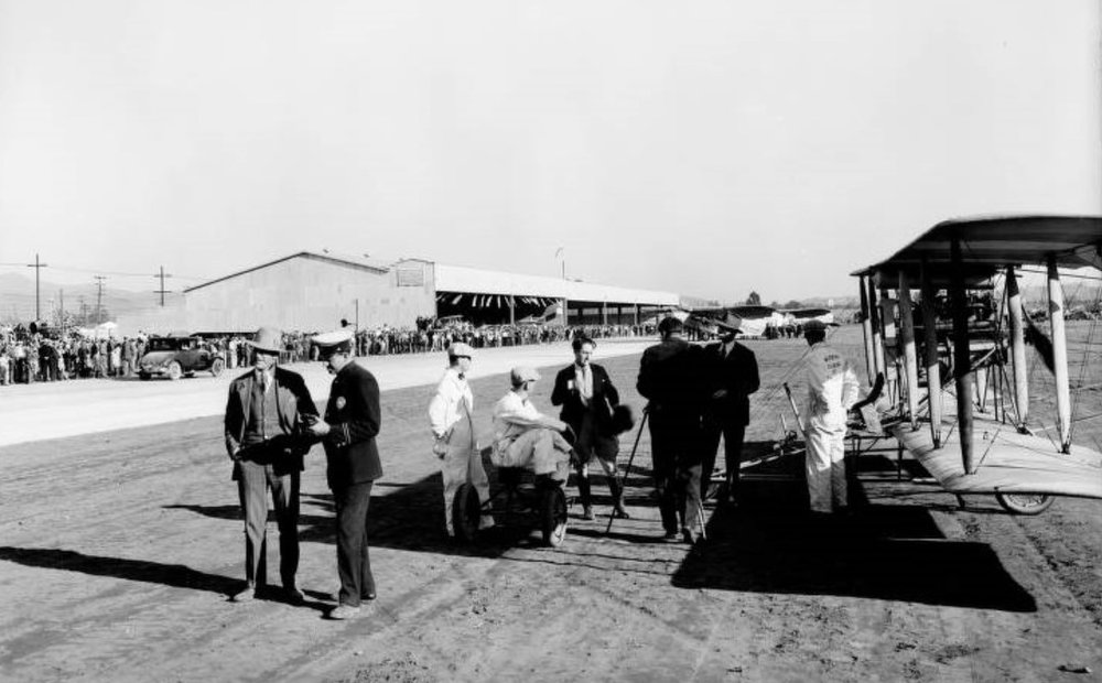 Opening day, Grand Central Air Terminal, Glendale. 1929..jpg