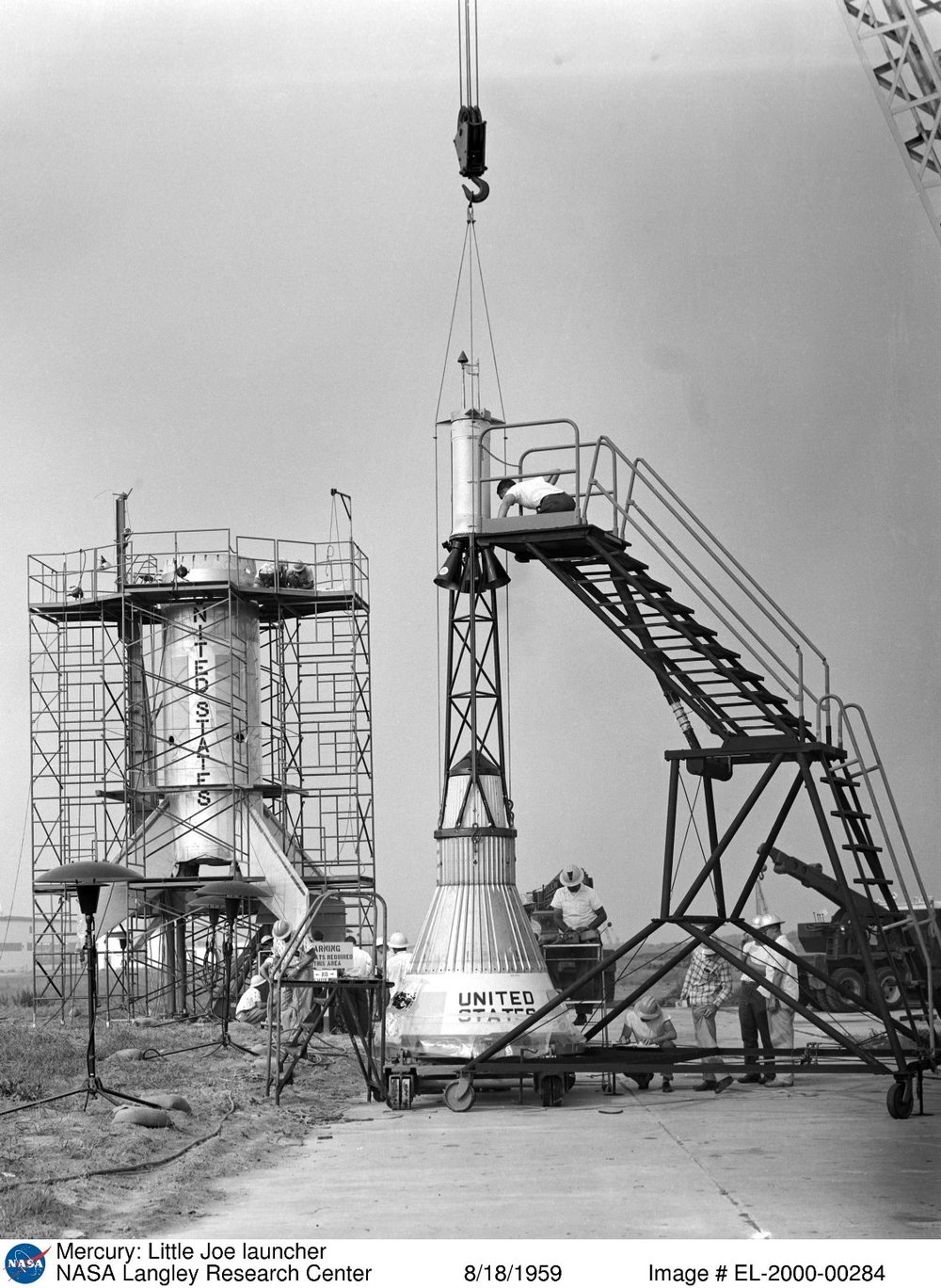 Mercury- Little Joe (LJ1) launcher 1959