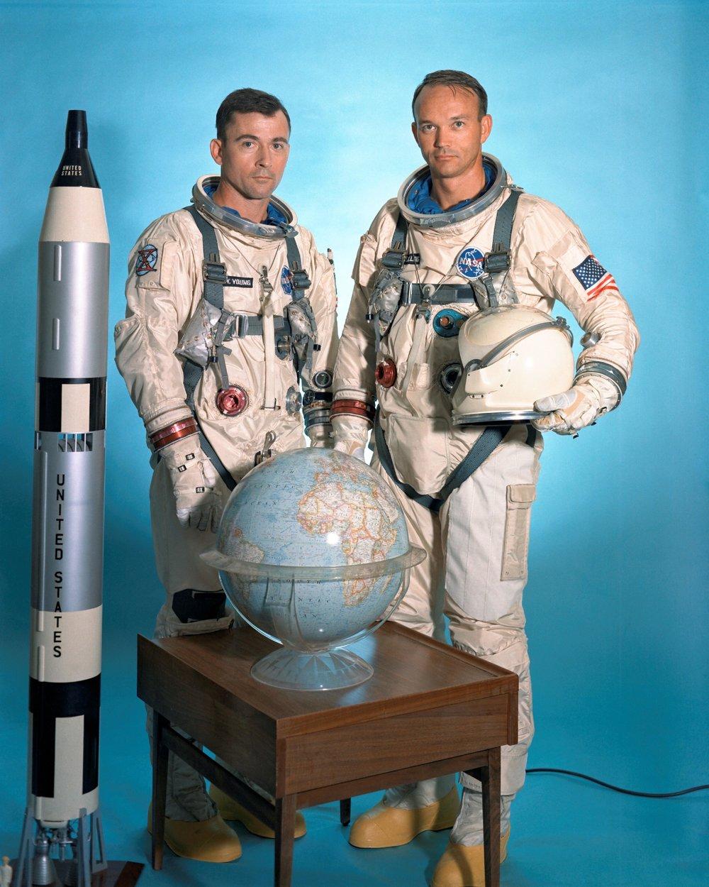 The Gemini X prime crew