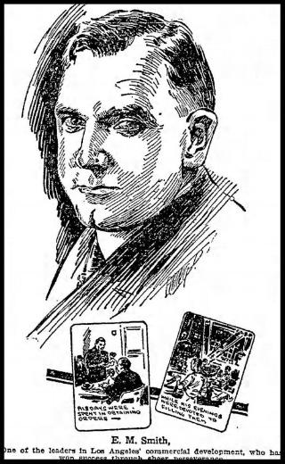 E.M. Smith October, 7, 1923 (LA Times)