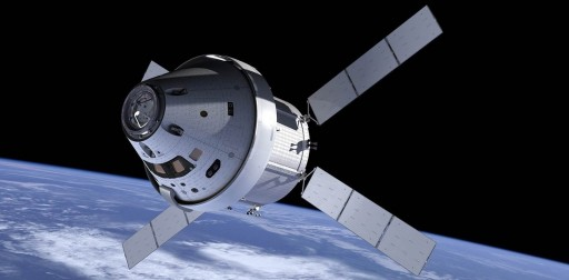 The Orion Multipurpose Crew Vehicle (MPCV) is a NASA spacecraft designed to take a crew of up to six Astronauts to destinations beyond Low Earth Orbit including the Moon, Mars and Asteroids..jpg
