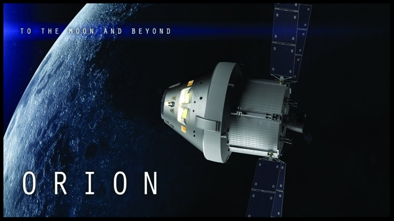Above- Click image for Orion mission specs and info.