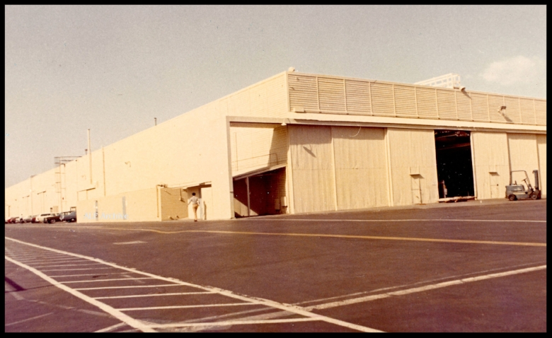 North American Rockwell Space Division in Downey.
