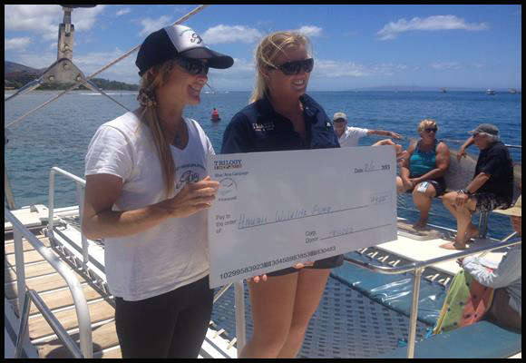 Hawaii Wildlife Fund Check