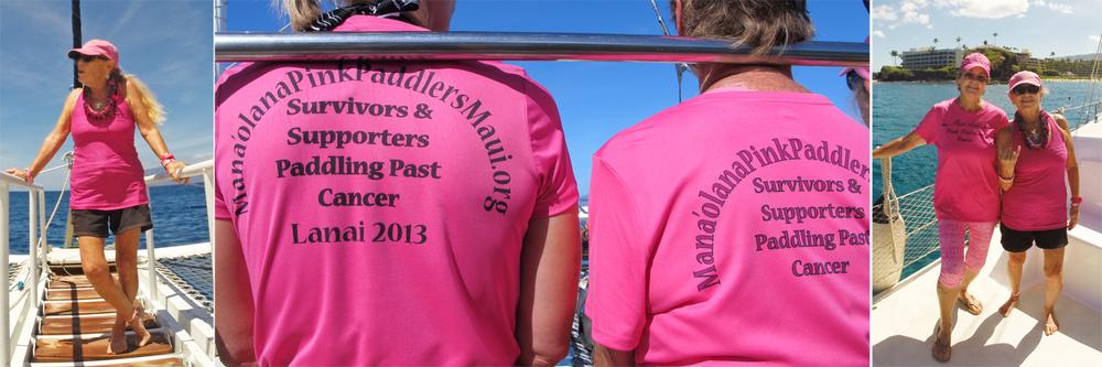 Manaolana Pink Paddlers