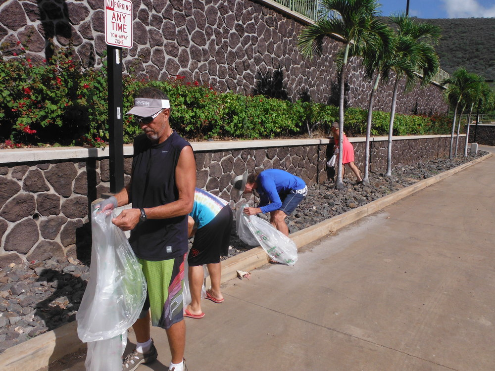 Our volunteers were on a mission to clear the harbor of trash!
