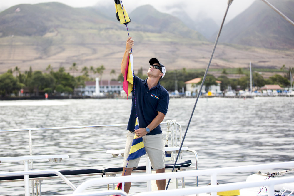 What Do The Trilogy Flags Mean Maui Lanai The Captains Log