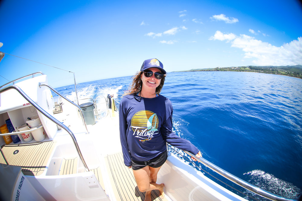 trilogy excursions outfits boats with reef safe sunscreen hawaiian