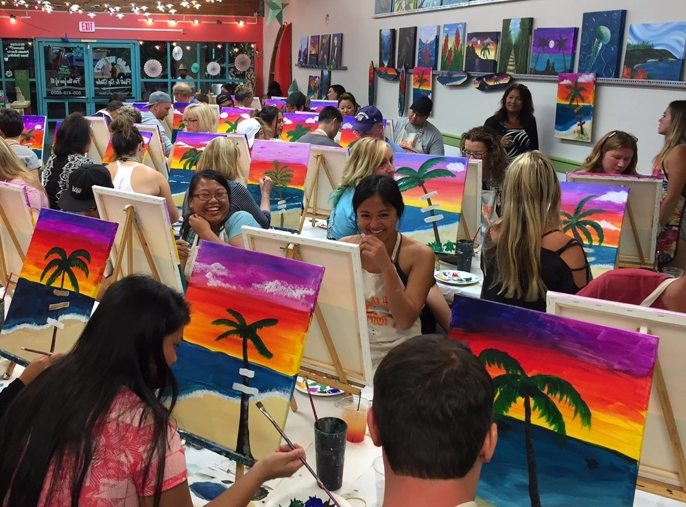photo credit:  Island Art Party  Facebook Page