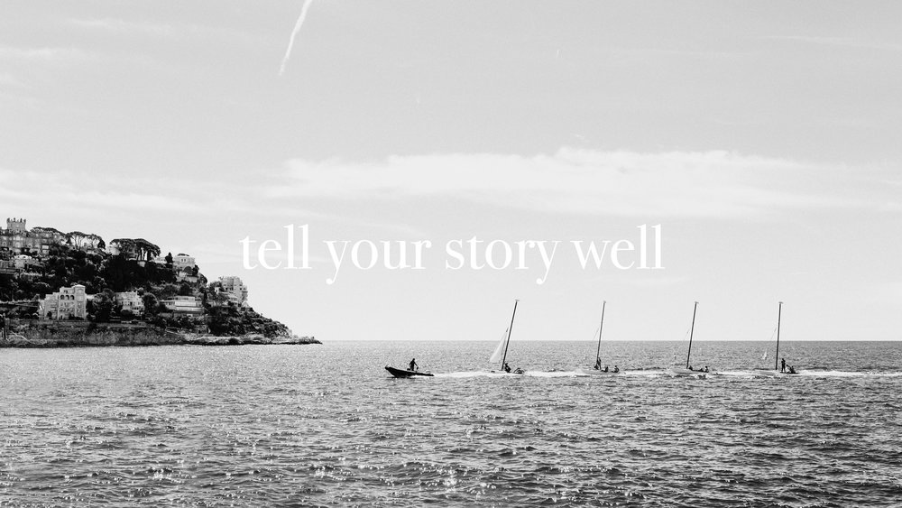 Tell your story well with engaging content: capture moments, engage customers, tell people who you are, and grow your business.
