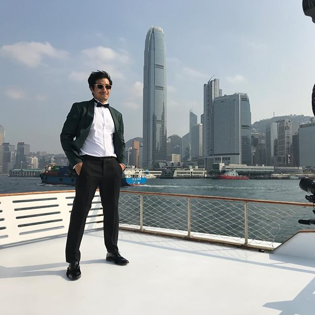 Me striking a pose for the wedding of the year. #mmwedhk2019 #nofilter  Congrats to @mashasha and @elajimimehdi