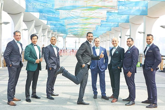 Just some snaps with the groom and the groomsmen. #mmwedhk2019