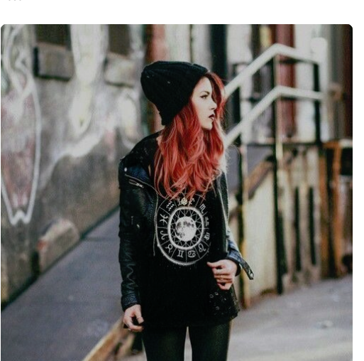 This is a somewhat dark/punky hipster and seems about right. I like the jacket and the hair color. We are going for diversity in this game so she could definitely be Asian - I will leave that up to you.