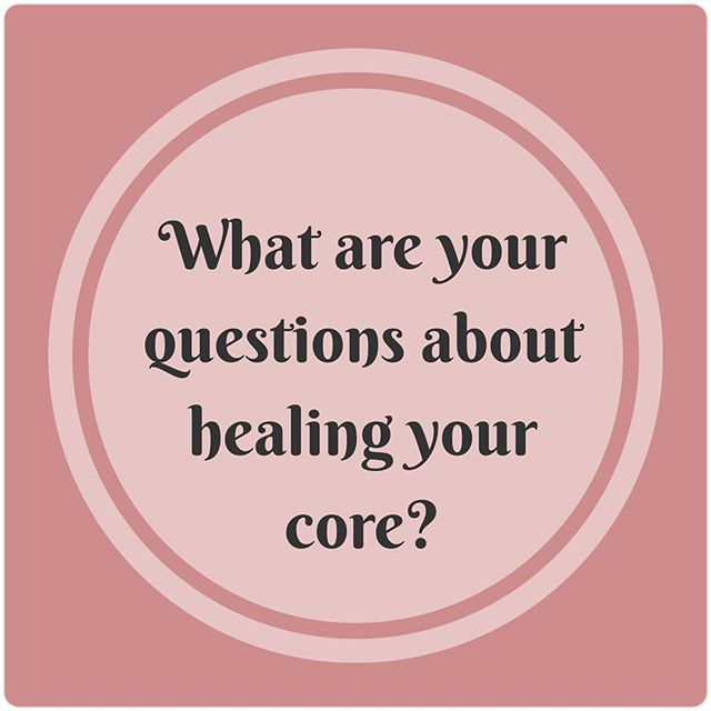 Will you help me? My goal is to share info that helps you heal your core, whether you have a diastasis recti, back pain, hernia, or pelvic floor issues. Please comment below with your questions so I can post on what's relevant to you! Thank you! 😍