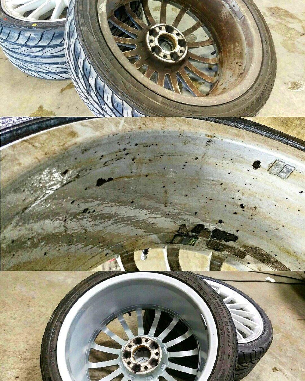Wheel Removal & Decontamination