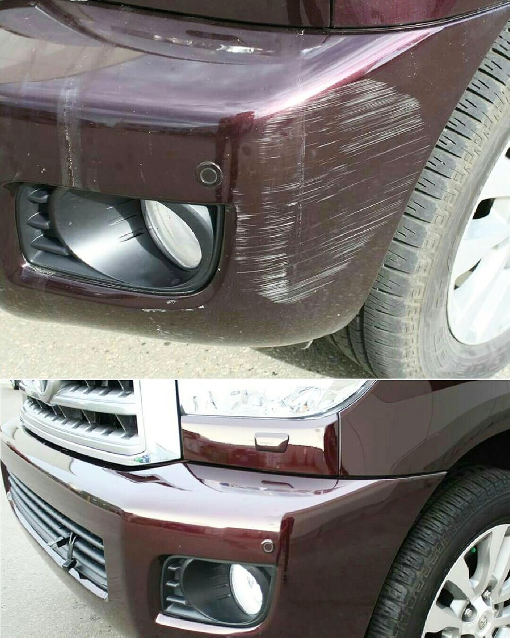 scratch and scuff repair