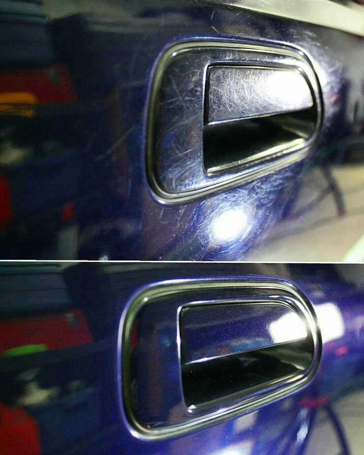 Multi stage paint correction.