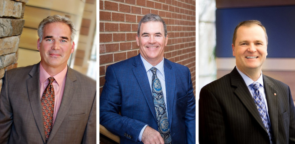 DLR Group's senior leadership team includes these Overland Park-based members: Jim French, FAIA, Global K-12 Leader; Andy Anderson, AIA, Southeast Region Leader; and John Fuller, Chief Marketing Officer.