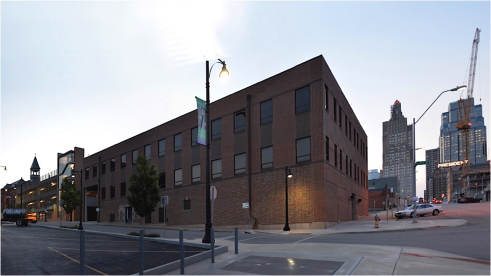 "BNIM's planned living headquarters aimed to transform this old warehouse at 1640 Main Street, which Scranton calls ""the ugliest building on the block."""
