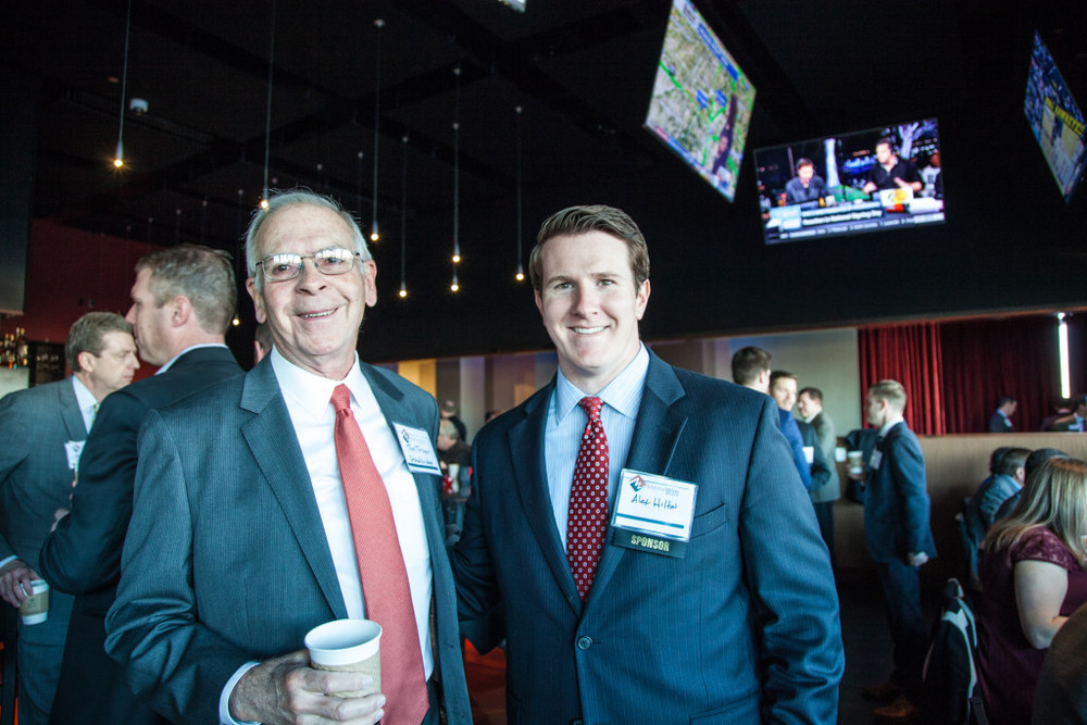 Tom Turner and Alex Hilton of Grandbridge Real Estate Capital. Photo credit: Jacia Phillips.