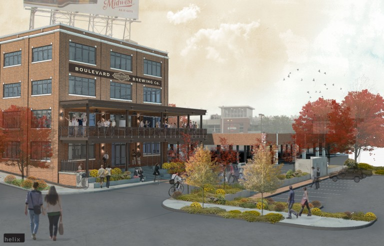 Boulevard Brewing Company's new and expanded visitors center will be located at 2534 Madison Ave.