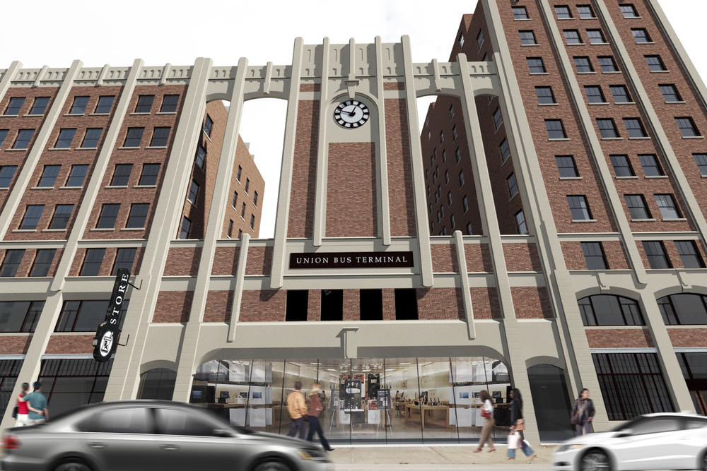 What was once the largest bus terminal in the country is getting a new life as a mixed-use project in Kansas City's East Village. Gold Crown Properties will turn the former Pickwick Hotel into a mix of apartments and retail.