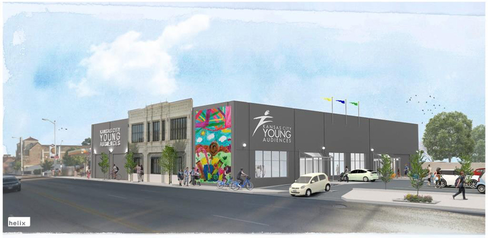 By the end of this year, Kansas City Young Audiences will make this building at 37th and Main home.