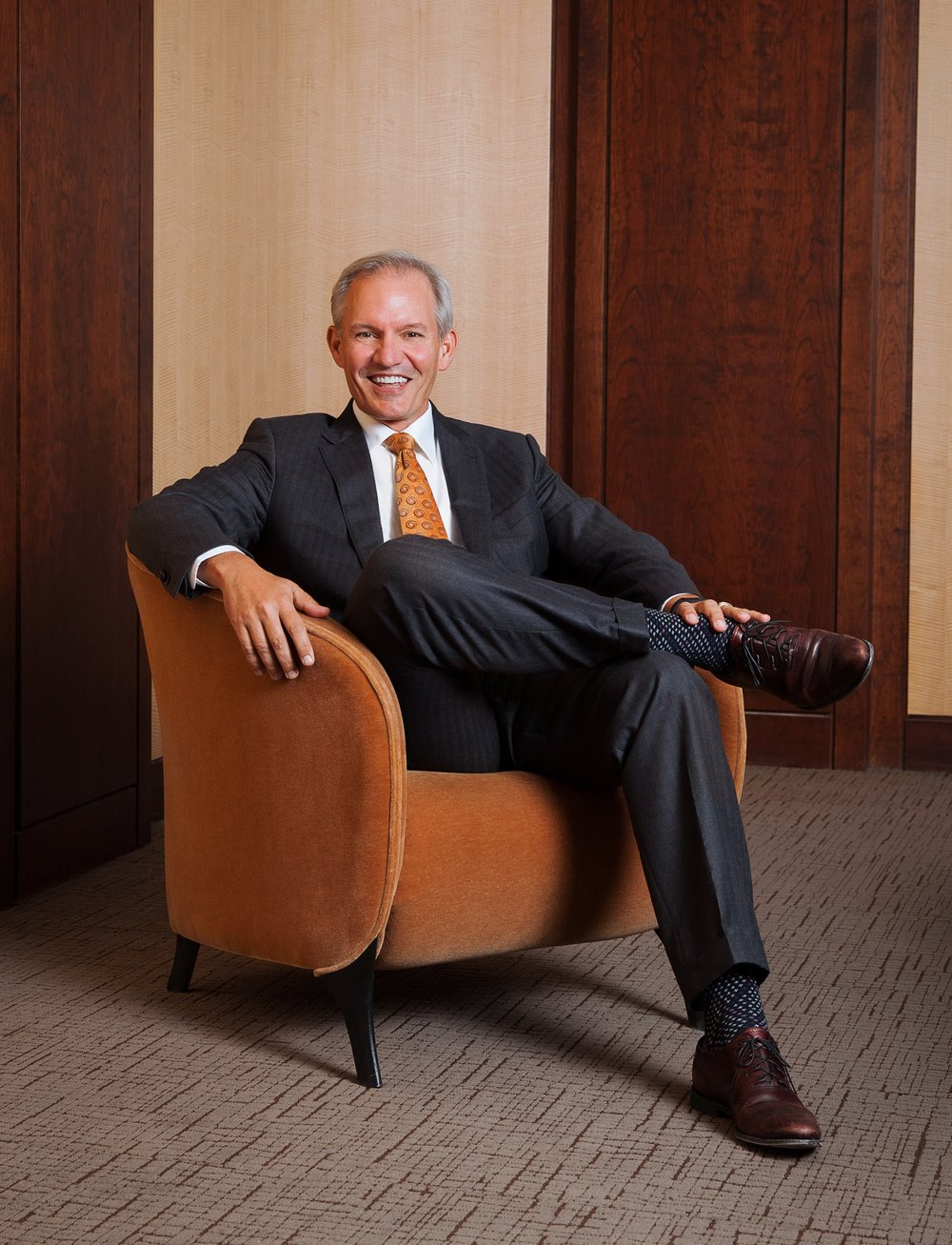 Greg Graves is retiring as CEO of Burns & McDonnell.