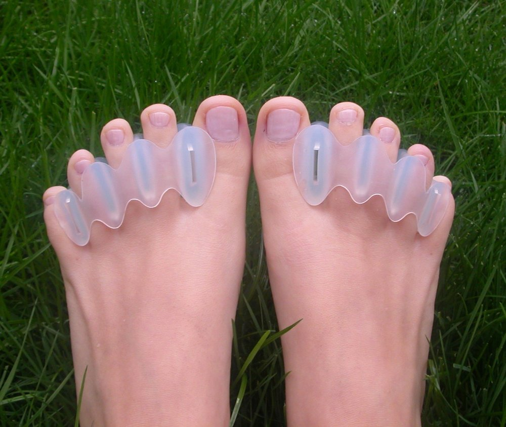 Correct Toes - If you have been smooshing your feet in