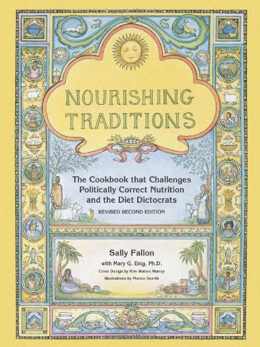 Nourishing Traditions - This book has both info and recipes in accordance with our nutritional philosophies. We love it because: a) it provides sound info based on solid science; b) it snarkily calls out modern