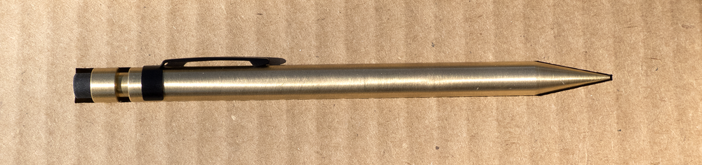 A nice slot for the pencil. When removed...