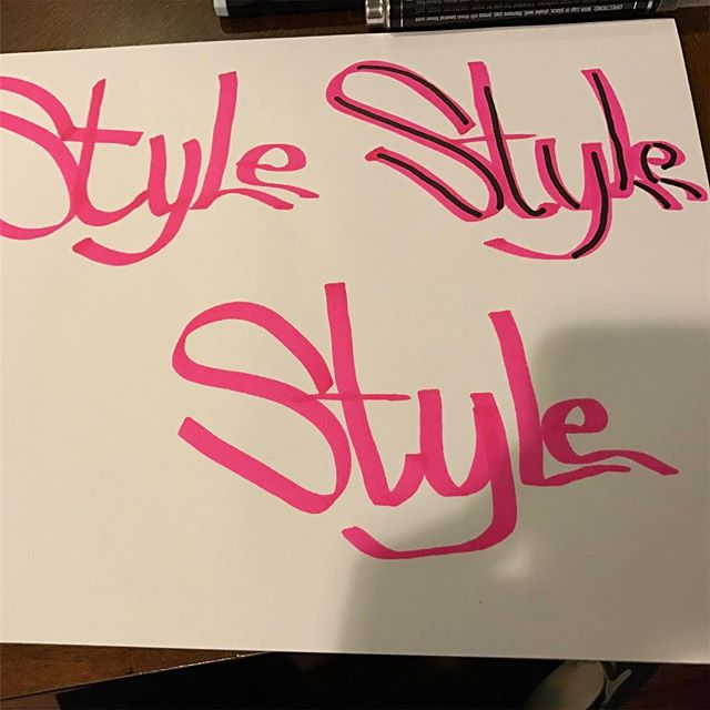 #style #typography #markers #analog #paper